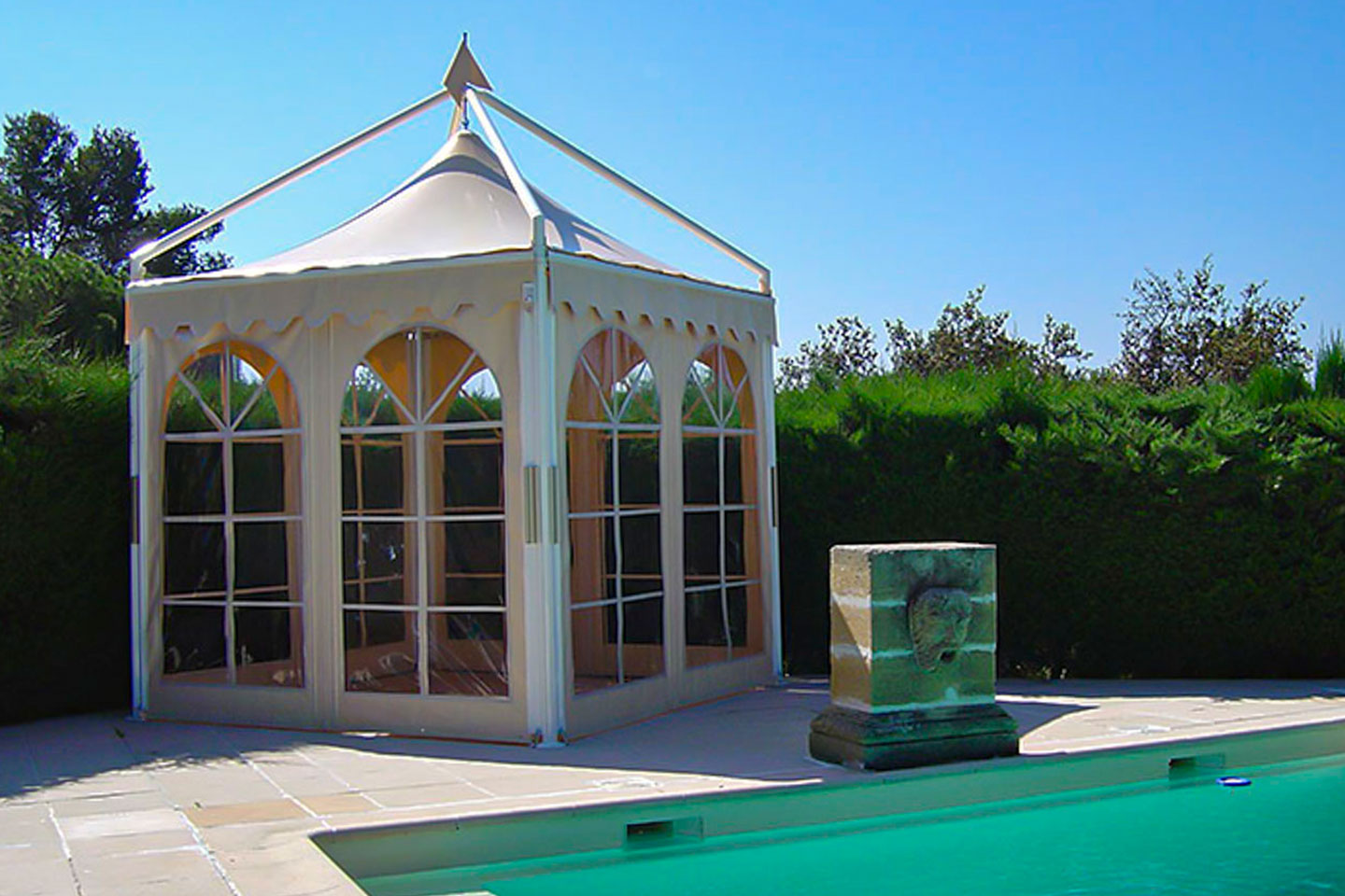 Victoria Trading Tents - Permanent Solutions: Gazebos