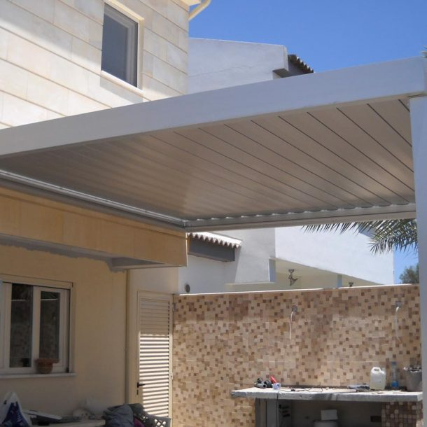 Victoria Trading Tents - Movable Systems: Aluminium Rain Covers