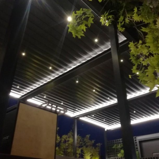 Victoria Trading Tents - Movable Systems: Aluminium Rain Covers