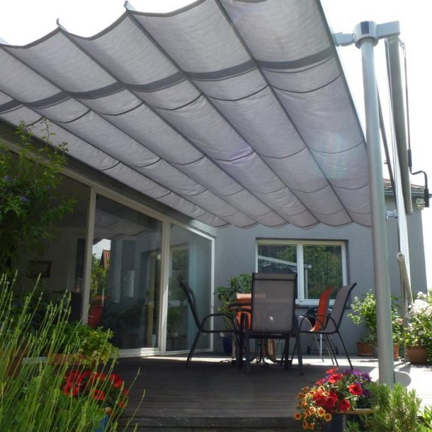 Victoria Trading Tents - Movable Systems: Leaf System
