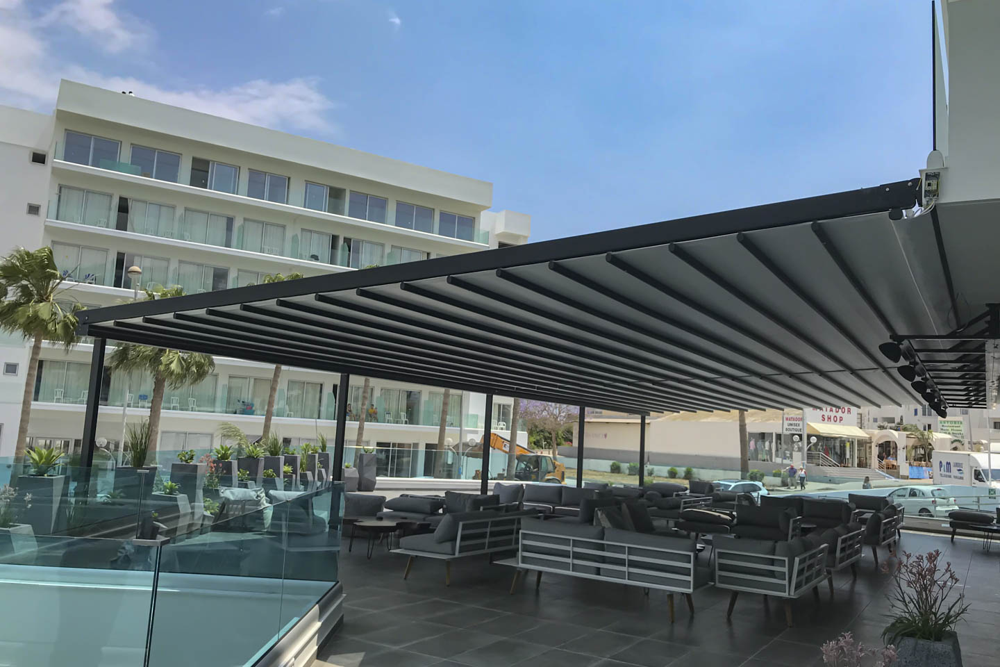 Victoria Trading Tents - Movable Systems: Tentopergolas