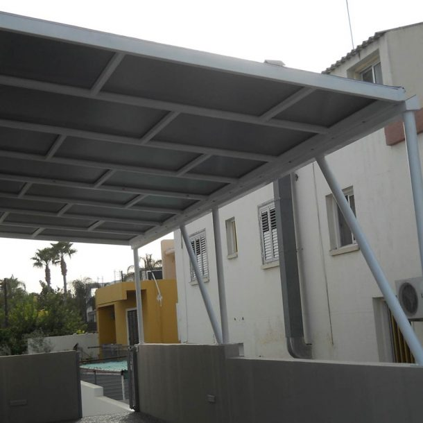 Victoria Trading Tents - Permanent Solutions: Metallic Structures